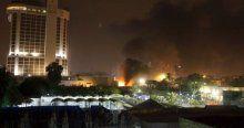 Irak'ta 5 yıldızlı iki otelde bombalı saldırı