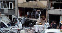 Maltepe'de oksijen tüpü patladı, 2 yaralı