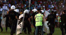 Spor Toto 3. Lig play-off maçında olay