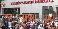 Tofaş işçilerinin eylemi sürüyor