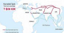 Yeni İpek Yolu projesinde Türkiye dahil 65 ülke var