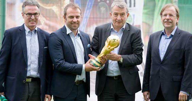 DFB Başkanı, alternatif FIFA'ya karşı