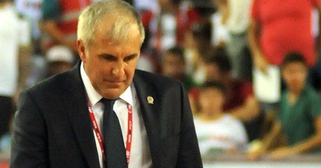 Obradovic'den maç sonu açıklama, 'Sorumluluk antrenördedir'
