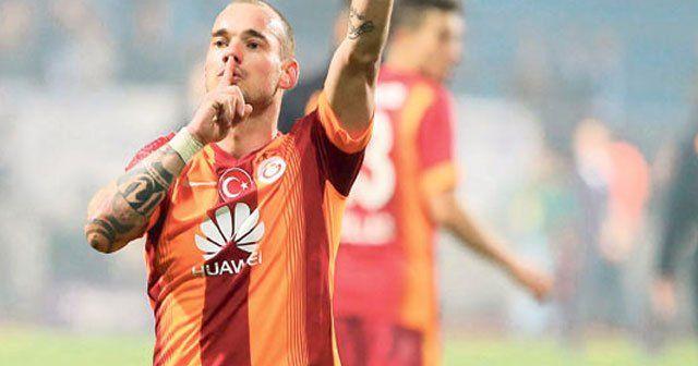 Sneijder'den taraftara iyi haber