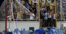 Adana Demirspor-Antalyaspor maçının ardından olaylar çıktı