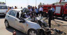 Ankara'da trafik kazası, 1 ölü