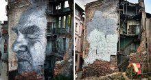 Birçok şehirde çizdi bir tek İstanbul'da tahrip edildi