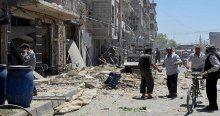Şam'da hava saldırısı, 10 ölü, 60 yaralı