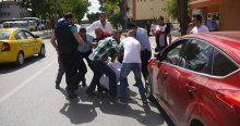 Silahlı kavga çıktı, yaralı polisler var