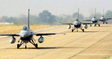 Sınırda F-16 hareketliliği