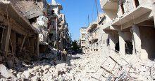 Suriye'de rejim güçleri 500 evi yıktı