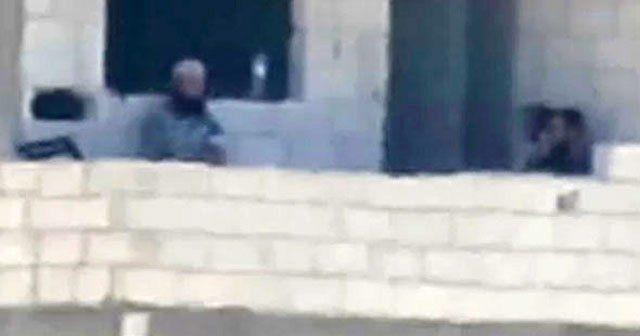 IŞİD militanları Türkiye sınırını gözetledi