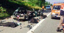 Arefe günü korkunç kaza, 3 ölü, 3 yaralı