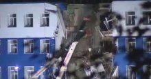 Askeri bina çöktü, 23 ölü