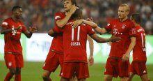 Bayern Valencia'yı ezdi geçti