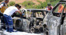 Çanakkale'de feci kaza, 3 ölü, 1 yaralı