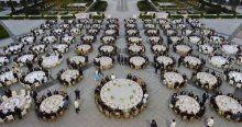 Cumhurbaşkanı Erdoğan, Saray personeline iftar verdi