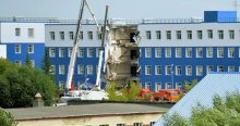 Rusya'da kışla çöktü, 23 ölü