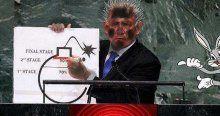 Tek mutsuz Netanyahu