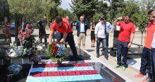 Trabzonspor'dan Petar Milosevski'nin mezarına ziyaret