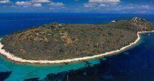 Yunanistan`da şahsa ait adalar satılıyor