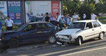 Zincirleme kaza, 5 yaralı