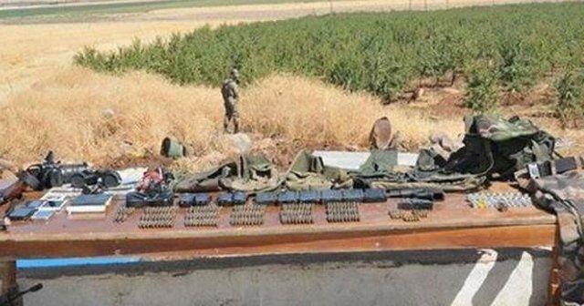 Bağ evinden PKK cephaneliği çıktı