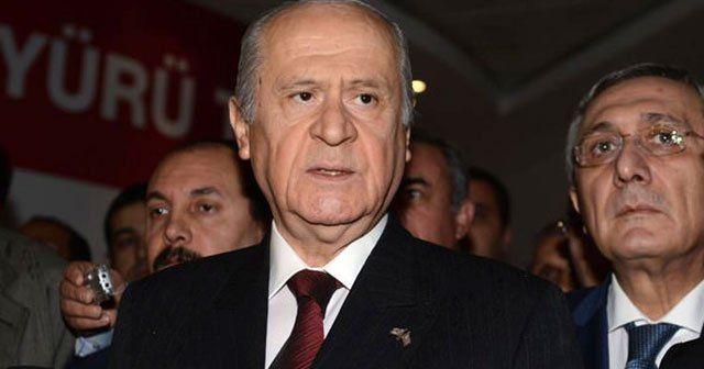 Bahçeli'den Kılıçdaroğlu ve Davutoğlu'na çağrı