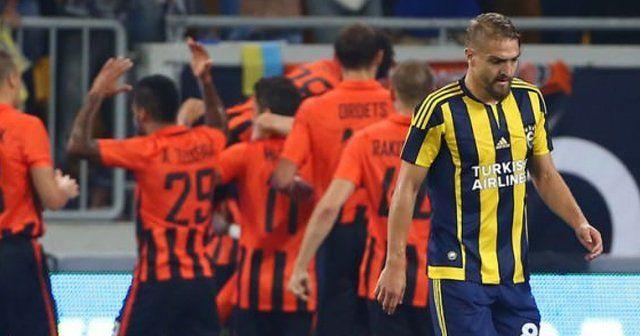 Fenerbahçe Devler Ligi'ne veda etti