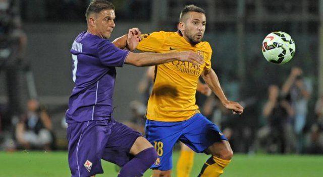 Fiorentina Barça'yı devirdi