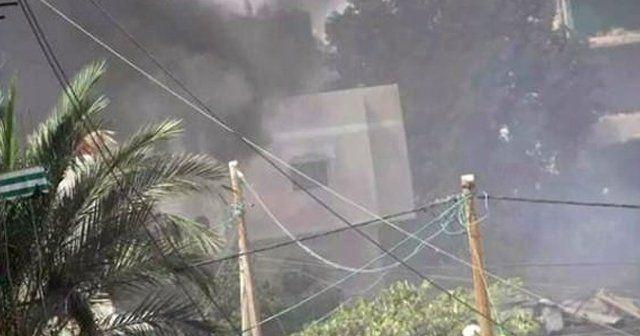 Gazze'deki patlamada 4 kişi öldü