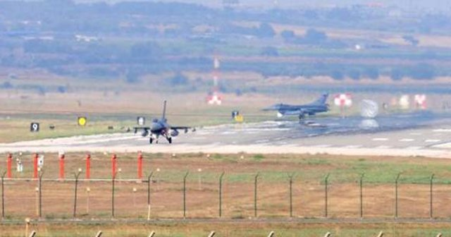 İncirlik'te F-16 hareketliliği