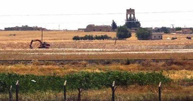 IŞİD sınırda hendek kazıyor