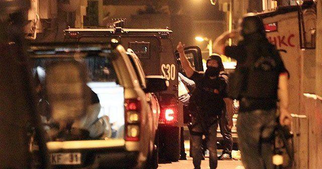 İstanbul'un iki ilçesinde terör operasyonu