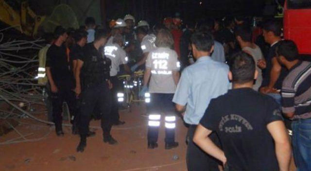 İzmir'deki faciada 4 işçinin cesedine ulaşıldı