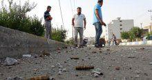 Cizre'de gece yaşanan patlama ve çatışmaların izleri dehşete düşürdü