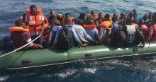 Ege Denizi'nde son 4 günde 1129 kaçak yakalandı