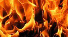 Hurda kağıt deposunda yangın