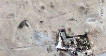 IŞİD'in Palmira'daki yıkımı uydudan görüntülendi