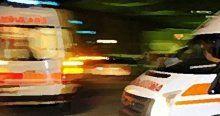 Kırşehir'de trafik kazası, 8 yaralı
