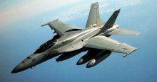 Kuş sürüsü savaş uçağını düşürdü