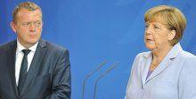 Merkel ve Rasmussen'den mülteci açıklaması