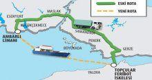 TIR'lar için Ambarlı'ya özel liman