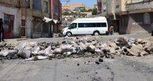 TOMA'ya roketli saldırı, 2 polis yaralandı