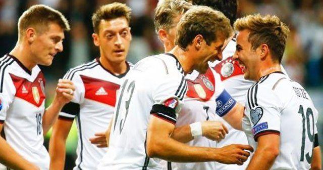 Almanya intikamını aldı