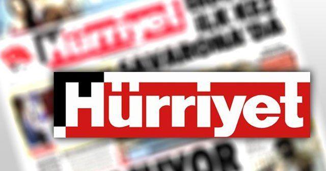 Hürriyet gazetesi yetkilileri hakkında soruşturma