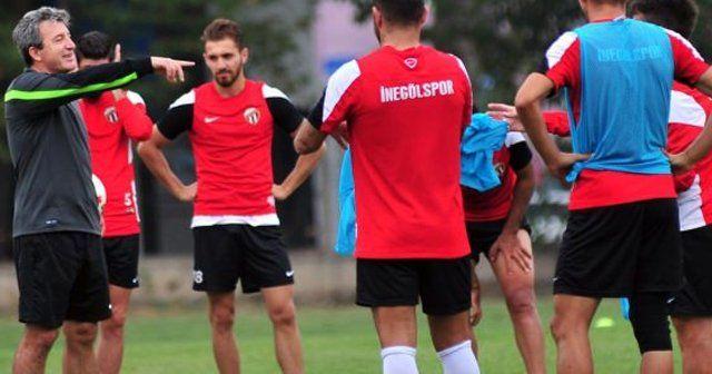 İnegölspor'da Ankara Demirspor maçı hazırlıkları