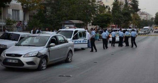 Polisin 'dur' ikazlarına uymayan şüpheli vuruldu