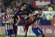 Barcelona Atletico Madrid'i deplasmanda yendi