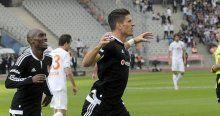 Beşiktaş, Medipol Başakşehir'e karşı galibiyet sayısını eşitledi
